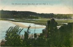 The Channel Between Glen Cove Sea Cliff L I NY | eBay