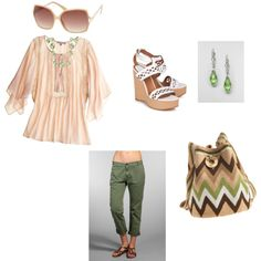 A stroll on a nice spring afternoon, created by lindsay-tuttle on Polyvore