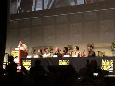 New #starwars cast members join panel #Sdcc