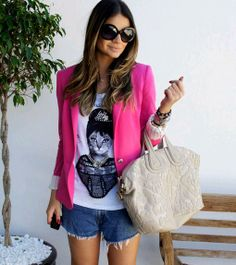 Ideas for my Pink Blazer