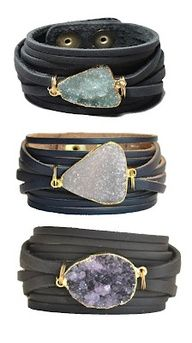Crystal wrap bracelets/cuffs Thanks for the find @Stacy Gonzalez
