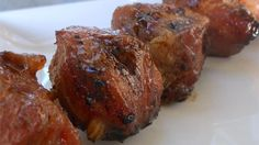 This pork kebab recipe is great for parties outside, especially picnics.
