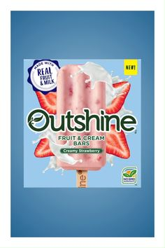 The all-new Outshine Fruit & Cream Bars deliciously combine real fruit and milk for a great summertime snack! The bright taste of these creamy bars are available now in three refreshing flavors: Strawberry, Mango, and Pineapple Coconut! Sweet Potato Recipes, Baby Food Recipes, Snack Recipes, Popsicle Recipes, Chef Recipes, Drink Recipes, Vegan Recipes, Dessert Recipes, Cooking Recipes