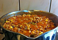 Beef Recipes, Cooking Recipes, Chilis, Sausage, Pork, Food And Drink, Foods, Drinks, Meat Recipes
