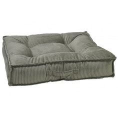 Sage Green Microcord Piazza Pet Dog Bed | Bowsers   ~ Great bed for corners! Sleek, space saving modern design, Machine Washable. High Quality, Not sold in Big Box Stores. Medium, Large & XLarge **Click here for more info** Free Shipping