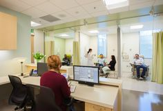 Dialysis at Martin Luther King, Jr. Outpatient Center - designed by HMC Architects