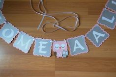 Owl Baby Shower Banner Owl baby Shower by ReginesPartyBoutique Baby Boy, Baby Owls, Owl Baby Shower Decorations, Cricut Baby Shower, Chevron, Minnie Mouse, Photo Prop, Personalized Banners, Pink
