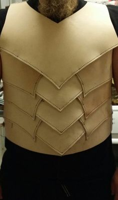 Dark elf leather armor WIP