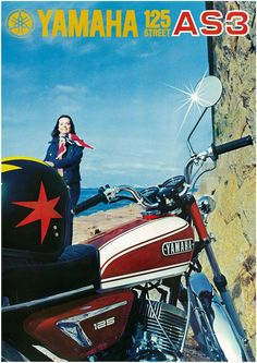Yamaha Brochure AS3 125 Street 1971 1972 Sales Catalog Repro | eBay
