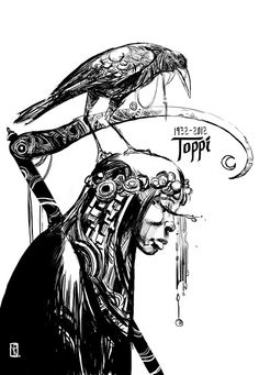 Nacho Pesquera: Homenaje a Sergio Toppi