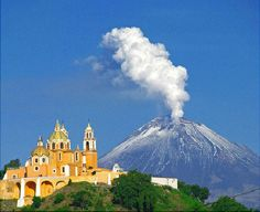 Cholula, Mexico - settled circa 3rd century BC, still inhabited today. Home to largest man-made monument  ever made (Great Pyramid of Cholula).