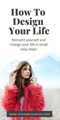 Reinventing yourself does not have to be as complicated. How to change your life starts with setting goals aligned to WHO you are. I'll show you the simple insights that to design your life and create the life you want in easy steps. Self Development, Personal Development, How To Become Happy, Impossible Dream, Happiness, Design Your Life, Stress, Life Plan, Self Improvement Tips