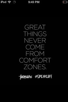 Toby Mac speak life and step out if your comfort zone