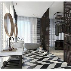modern luxury bathroom design with chandeliers ideas for your home | www.bocadolobo.com #bocadolobo #luxuryfurniture #exclusivedesign #interiodesign #designideas #homedecor #homedesign #decor #bath #bathroom #bathtub #luxury #luxurious #luxurylifestyle #luxury #luxurydesign #tile #cabinet #masterbaths #tubs #spa #shower #marble #luxurybathroom #bathroomdesign #bathroomdecor #bathroomdecorideas #chandelier #luxurybathrooms #luxuryhomes #luxurymodernhomedesign