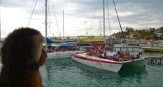 Apen matkat: Cancun osa 11, Isla Mujeres, laivalla tai lautalla saarelle