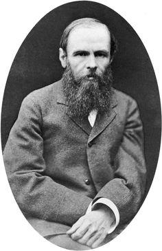 Fyodor Dostoyevsky, my favorite writer.
