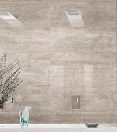 Cerámica Re-Use Concrete Provenza. Calce White, Fango Sand y Malta Grey. Natural y lapado rectificados. Formatos 60x120, 45x90, 60x60, 30x60cm.