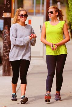 Work out with a friend like Lo Bosworth and Lauren Conrad