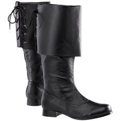Back-Laced Renaissance Boots