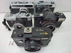 FC5-698FC フジカ等フィルムカメラ 5台セット ジャンク_画像1