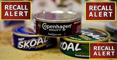 ** ATTENTION ! ** VERY DANGEROUS Skoal & Copenhagen RECALLED! - http://yeswecoupon.com/attention-very-dangerous-skoal-copenhagen-recalled/?Pinterest  #Breakingnews, #Dangerousrecall, #Fdarecall, #News, #Recall, #Recallalert