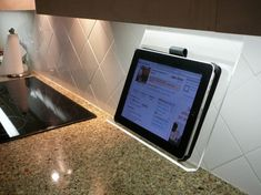 The Original Kitchen iPad Rack