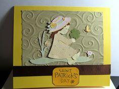 St. Patrick's Day card using Kate's ABCs Cricut Cartridge