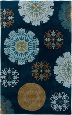 Rizzy Rugs Volare VO2467 Navy Rug