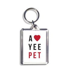 love yee valentines keyring geordie gift Valentine Day Cards, Valentine Gifts, Pure Products, Mugs, Personalized Items, Handmade, Design, Valentine Ecards, Hand Made