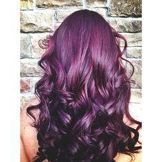 Love the purple Color hair.