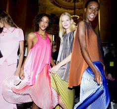 Behind the Scenes photos at Paris Fashion Week - Stella McCartney
