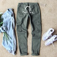 Sugar Falls Cargo Pants.. Love these casual yet chic pants for the weekend. www.spool72.com