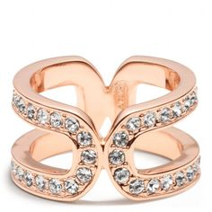 DOUBLE LINK WRAP RING