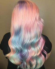 "138 Likes, 10 Comments - Shelby Weatherholtz (@shelbyweatherholtzhair) on Instagram: ""UNICORN hair PERFECTION!  Oh you thought I was done with the insanely fun mermicorn hair I don't…"""