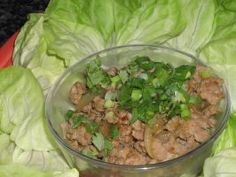 Thai Ginger Pork (Appetizer or Meal)