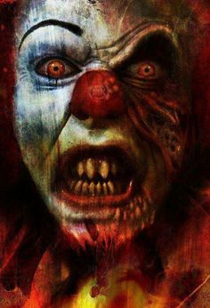 """Penny wise the clown from Stephen King's """"It"""""""