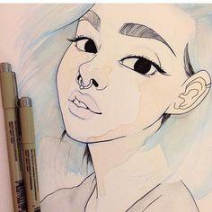 Detailing   #watercolorpainting #watercolor #painting #portrait #drawmerootistabootus #drawing #sketch #sketching