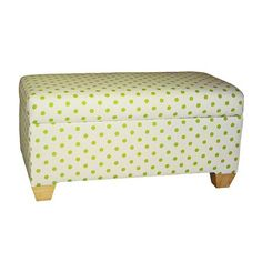 Storage bench, not the design Princess Room, Paint Shop, Foot Rest, Pattern Wallpaper, Playroom, Ottoman, Sweet Home, Polka Dots, Contemporary