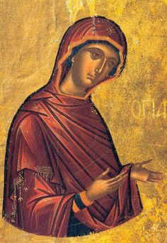 . Byzantine Art, Hail Mary, Religious Icons, Orthodox Icons, Sacred Art, Virgin Mary, Ethereal, Madonna, Mona Lisa