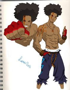 1000+ images about African Anime Characters on Pinterest ...