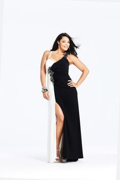 d701a2d304e Faviana 9278 One Shoulder Plus Size Prom Dress