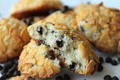 Biscotti+morbidi+con+gocce+di+cioccolato+fondente+|+ricetta+semplice