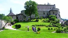Hohenwerfen Castle Tourism, Austria - Next Trip Tourism Hohenwerfen Castle, Best Wallpaper Sites, Austria Tourism, Salzburg, Cool Watches, Life Is Beautiful, Wonders Of The World, Places To Travel, Around The Worlds