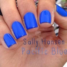Pretty Blue Nails - Trends & Style