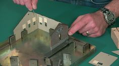 No matter how good a painting and weathering expert you are, crooked walls just stand out! Learn some of the tips for assembly of model railroad buildings.