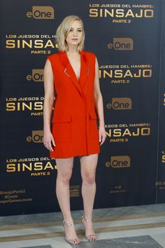All 34 Looks Jennifer Lawrence Has Worn During Her Four-Year Hunger Games Press Tour