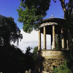 St Bernard's Well at Water of Leith. #waterofleith #well #stbernardswell #architecture #naturelovers #cityscape #stockbridgeedinburgh #stockbridge #edinburgh #scotland