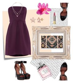 """""""Glamour"""" by siwarchihawi ❤ liked on Polyvore featuring Oris, Post-It, Untold, Givenchy, New Look, Michael Kors, Urban Decay, Christian Dior, Summer and love"""