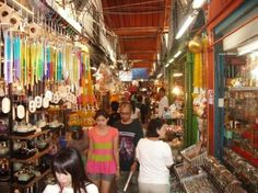 Chatuchak Weekend Market: crazy, busy and hot but a shoppers dream. Way to much to see but a fun outing