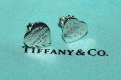 I got these Tiffany earrings for Christmas! <3 LOVE :D
